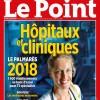 Le CHU de CAEN se distingue dans le classement 2018 des Hôpitaux du POINT